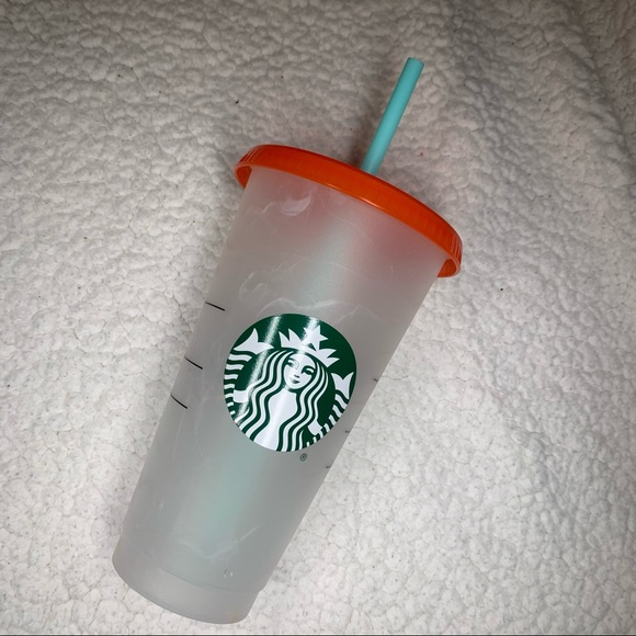 Starbucks Summer 2021 Cold Cup color changing